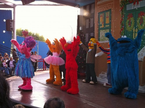 Sesame Place show