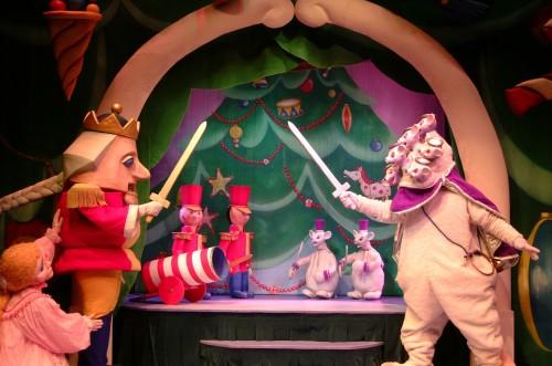 Nutcracker puppet show