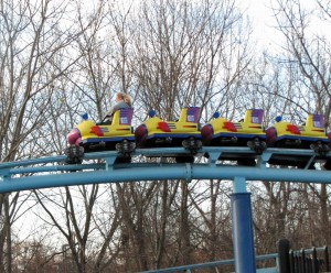 Sesame Place Vapor Trail