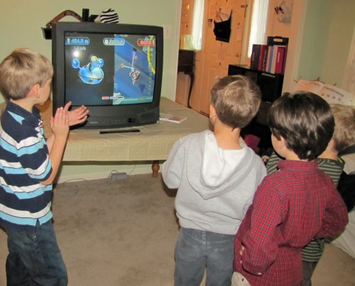 Wii Play Motion Star Shuttle Game