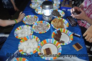 Smores-Buffet