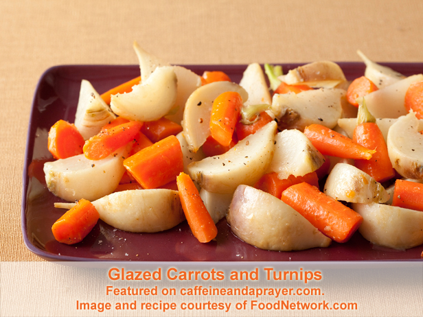 Glazed Carrots and Turnips from FoodNetwork.com