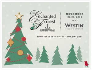 The Enchanted Forest Postcard at the Westin inTysons Corner